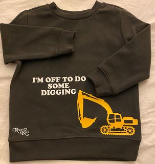 Digger/Tractor Sweat Shirt