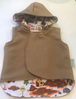 Reversible Wool Vest