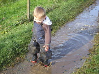 Is'nt the mud good fun